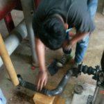 เปลี่ยน jockey pump ดาดฟ้า-3 ข้อต่าง