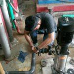 เปลี่ยน jockey pump ดาดฟ้า-4 ข้อต่าง