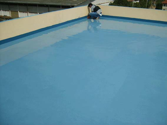 การทำระบบกันซึมด้วย Flexible Cement TUFSEAL WATERPROOF