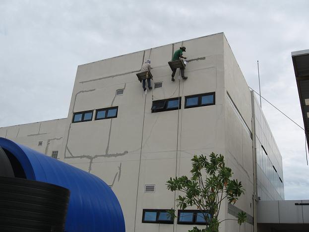 Leakage Repair For Highrise Building / การซ่อมรั่วซึมอาคารสูง