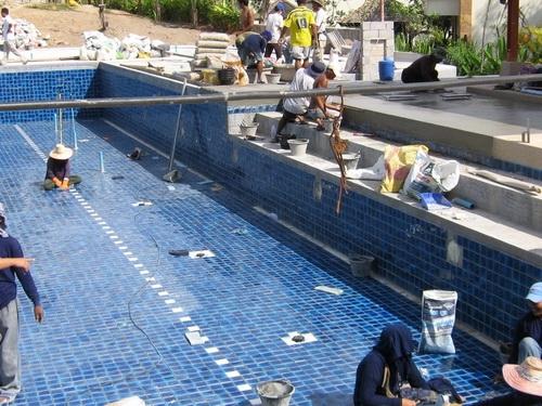 บริการรับซ่อมแซมและสร้างสระว่ายน้ำ พร้อมเดินระบบ