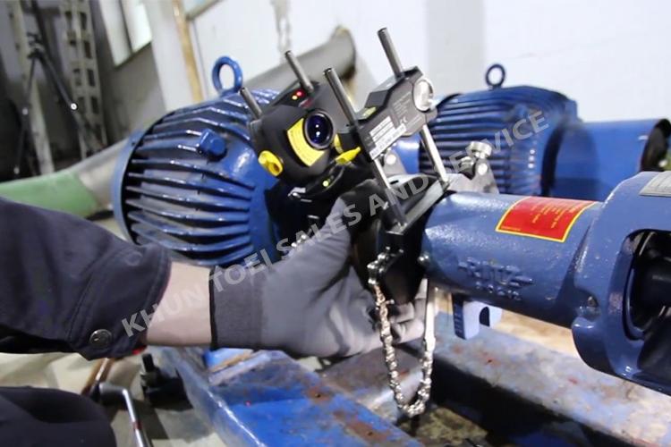 บริการรับตั้งศูนย์เพลา มอเตอร์ และปั๊ม (Alignment Motor and Pump)
