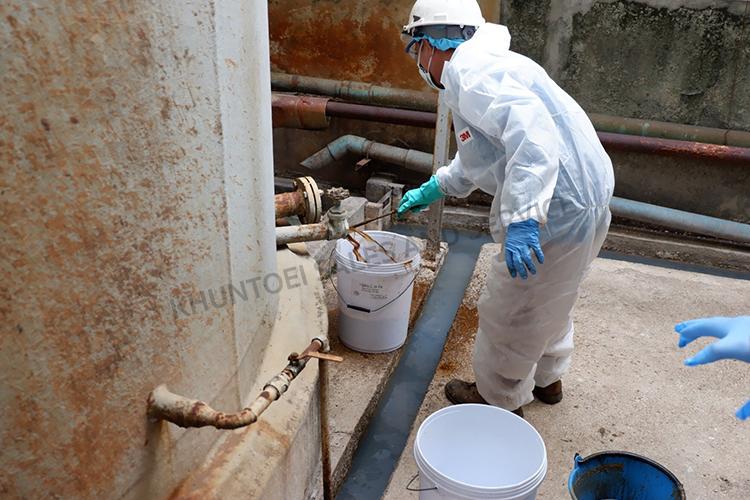 บริการล้างถังน้ำมันเตาสำหรับโรงงานอุตสาหกรรม