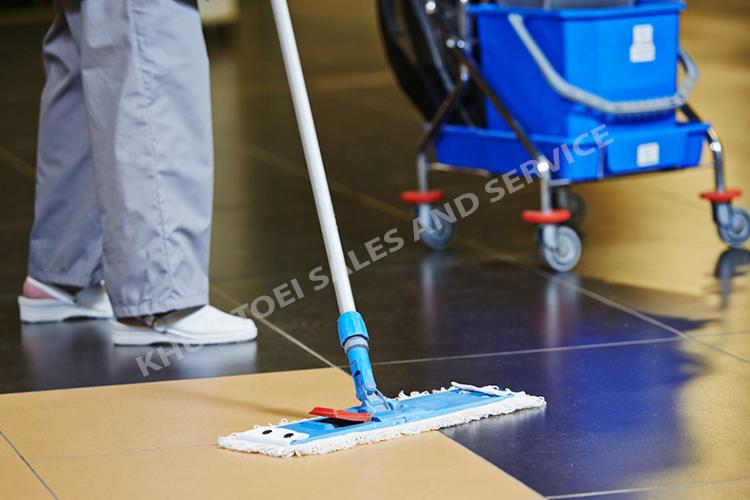 บริการรับทำความสะอาดภายในโรงงาน
