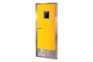 จำหน่ายประตูหนีไฟ ประตูเหล็กทนไฟ ประตูเหล็ก พร้อมติดตั้ง