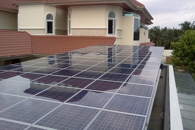 บริการรับติดตั้งโซล่าเซลส์ ระบบพลังงานแสงอาทิตย์บนหลังคา