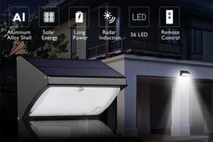 จำหน่ายโคมไฟเซ็นเซอร์พลังงานแสงอาทิตย์