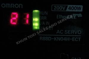 จำหน่าย Omron AC SERVO R88D-KN04H-ECT