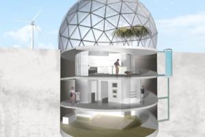 บริการรับออกแบบและสร้าง Underground home