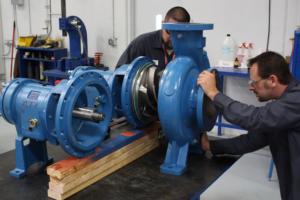 บริการรับติดตั้ง ซ่อมแซม Overhaul Pump & Motor & Vacuum Pump
