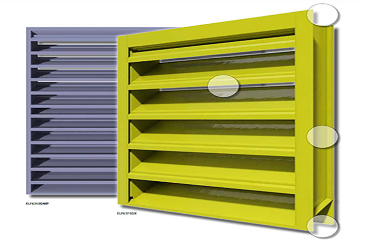Stationary Louver